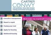 Cartrefi Conwy – North Wales Social Landlord – Website Design