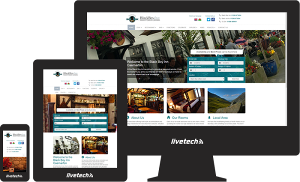 responsive web design north Wales