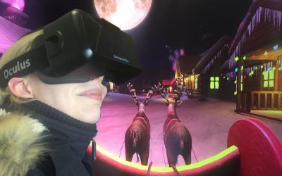 Virtual Santa Sleigh Ride at Llandudno Christmas Fayre – VR North Wales