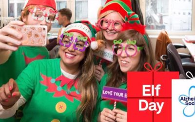 Livetech are participating in Elf Day for the Alzheimer's Society!